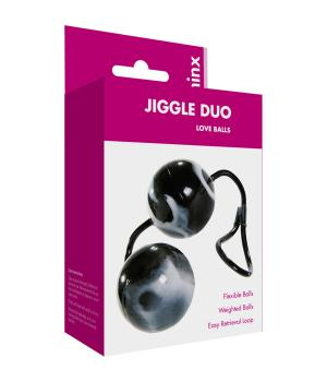 Minx Jiggle Duo Love Balls Black