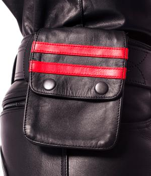 Prowler RED Leather Wallet Black/Red OS