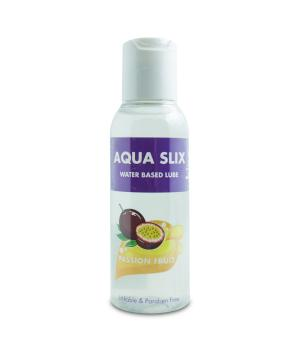 Aqua Slix Water Based Lube Passion Fruit 100ml