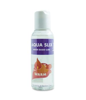 Aqua Slix Water Based Lube Warm 100ml