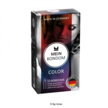 Mein Kondom Color 12 Kondome NETTO