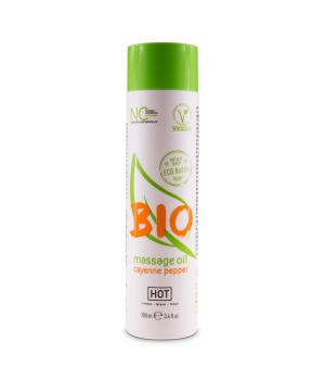 HOT Bio Massage Oil Cayenne Pepper 100ml
