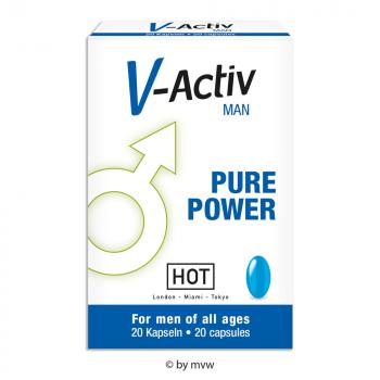 HOT V-Active for Man 20 Kapseln NETTO