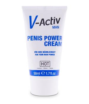 HOT V-Activ for Men Penis Power Cream 50ml NETTO
