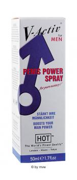 HOT V-Activ Penis Power Spray 50ml NETTO