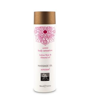 HOT Massage Oil Indian Rose & Almond Oil100ml