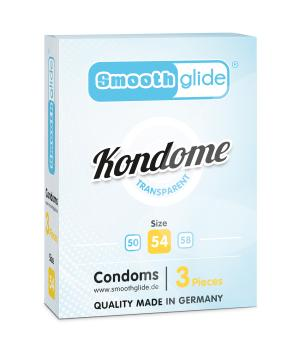 Smoothglide Kondome 54mm 3er Packung NETTO
